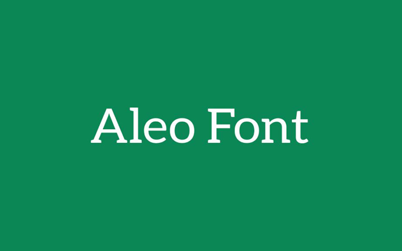 You are currently viewing Aleo Font Free Download