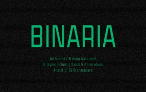 Read more about the article Binaria Font Free Alternative Download