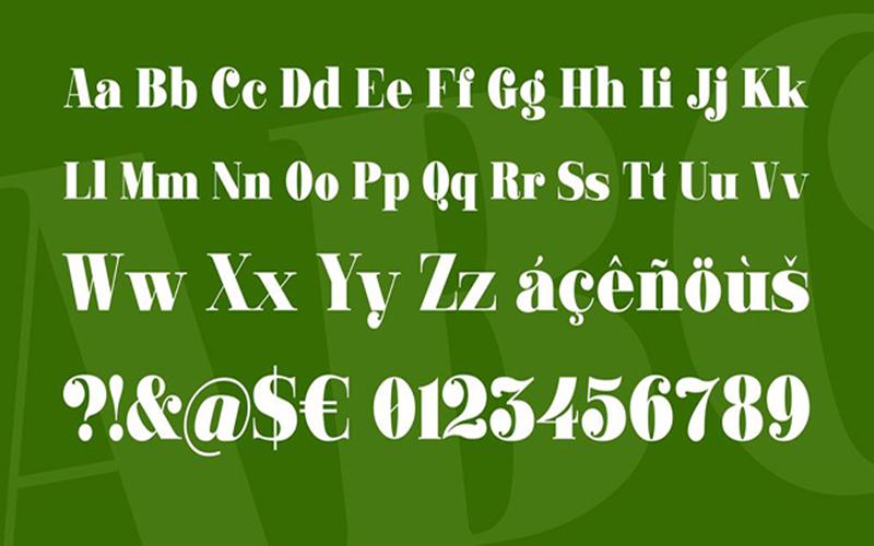 Ganton Font Family Download