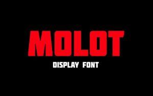 Molot Font Free Download
