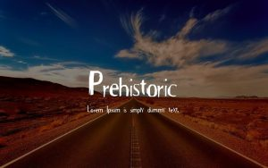 Read more about the article Prehistoric Font Free Download