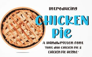Read more about the article Chicken Pie Font Free Download