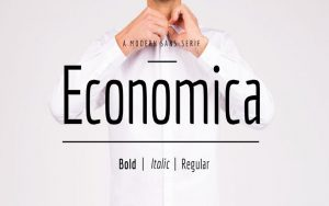Read more about the article Economica Font Free Download