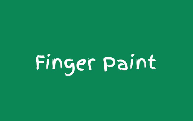 You are currently viewing Finger Paint Font Free Download