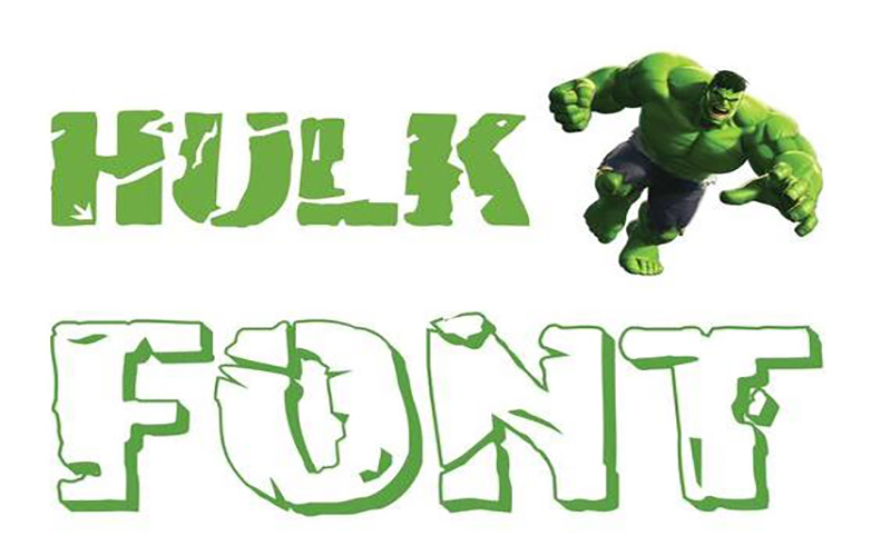 You are currently viewing Hulk Font Free Download