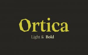 Read more about the article Ortica Font Free Download