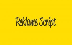 Read more about the article Reklame Script Font Free Download
