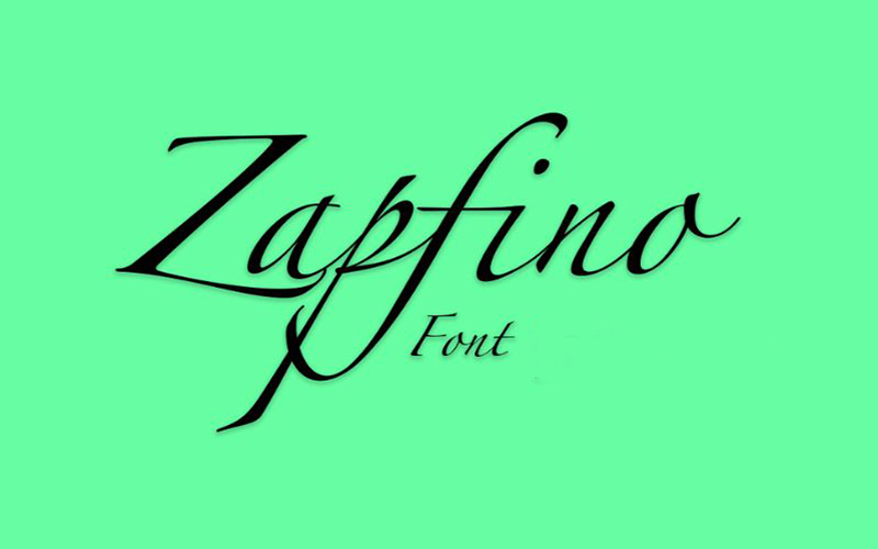 You are currently viewing Zapfino Font Free Download