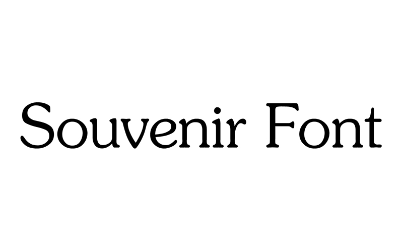 You are currently viewing Souvenir Font Free Download
