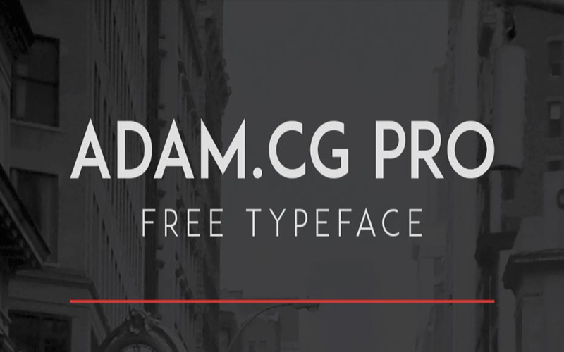 You are currently viewing Adam CG Pro Font Free Download