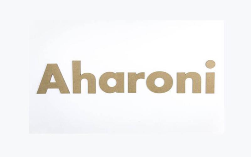 Aharoni Font Free Download