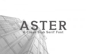 Aster Font Free Download