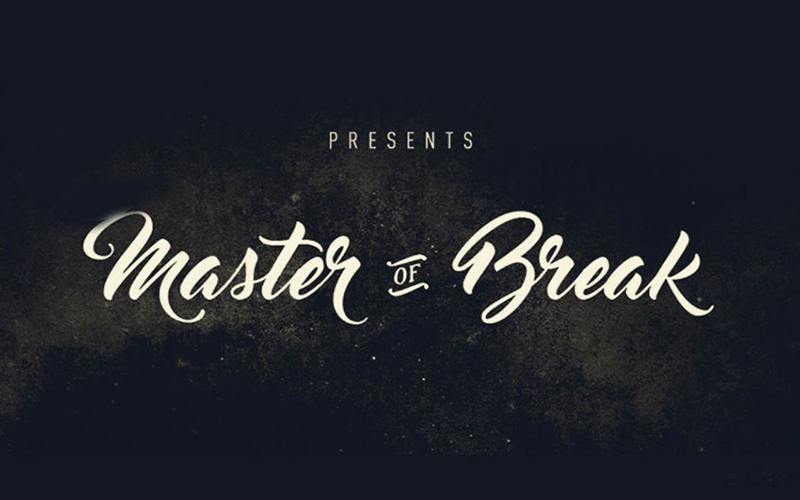 You are currently viewing Master of Break Font Free Download