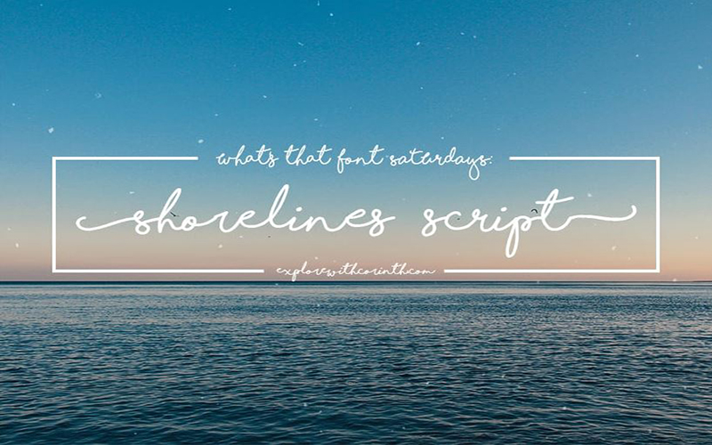 You are currently viewing Shorelines Script Font Free Download