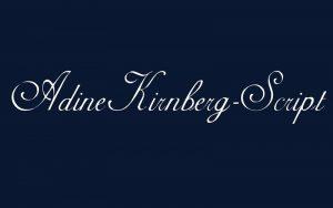 Adine Kirnberg Font Free Download