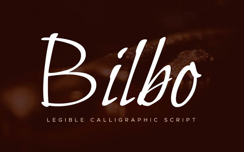 You are currently viewing Bilbo Font Free Download