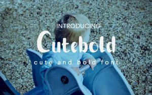 Read more about the article Cutebold Font Free Download