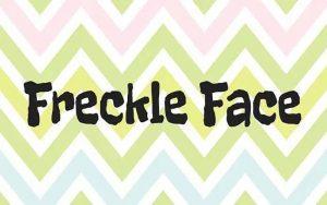 Freckle Face Font Free Download