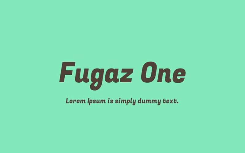 You are currently viewing Fugaz One Font Free Download
