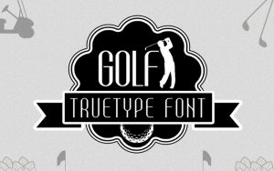 Read more about the article Golf Font Free Download