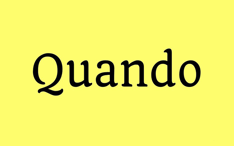 You are currently viewing Quando Font Free Download