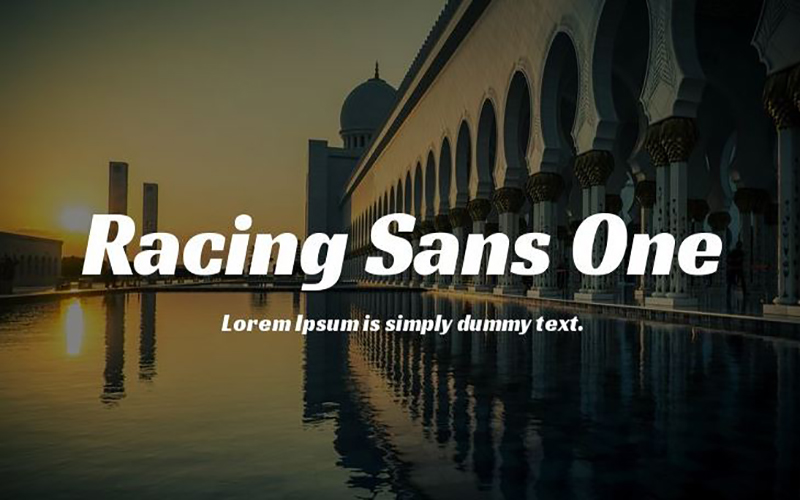 You are currently viewing Racing Sans One Font Free Download