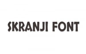 Read more about the article Skranji Font Free Download