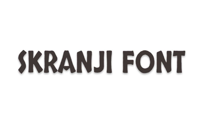 You are currently viewing Skranji Font Free Download