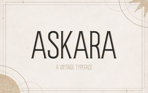 Read more about the article At Askara Font Free Download