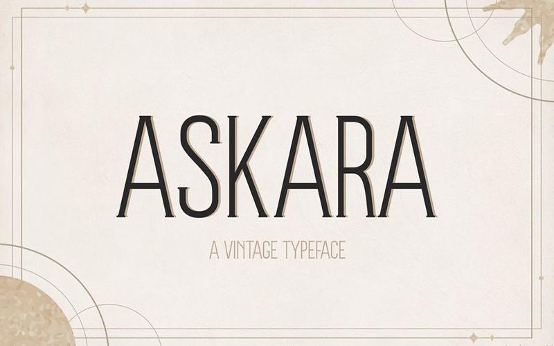 At Askara Font Free Download