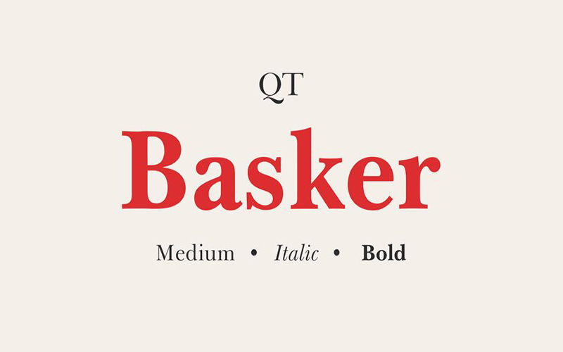 You are currently viewing Basker Font Free Download