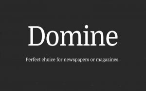 Read more about the article Domine Font Free Download
