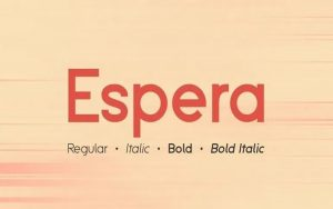 Read more about the article Espera Font Free Download