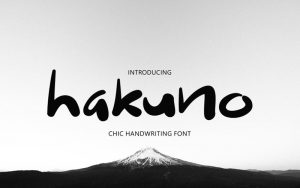 Read more about the article Hakuno Font Free Download