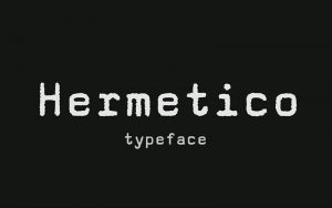 Read more about the article Hermetico Font Free Download