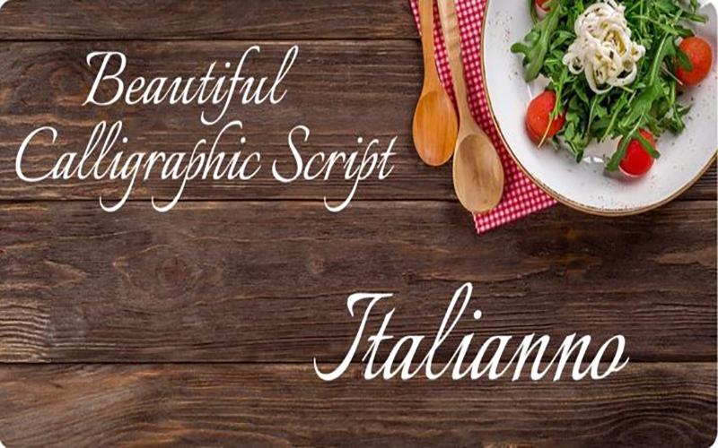 Italianno Font Free Download