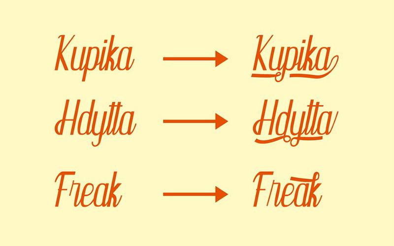 Kupika Font Family Download