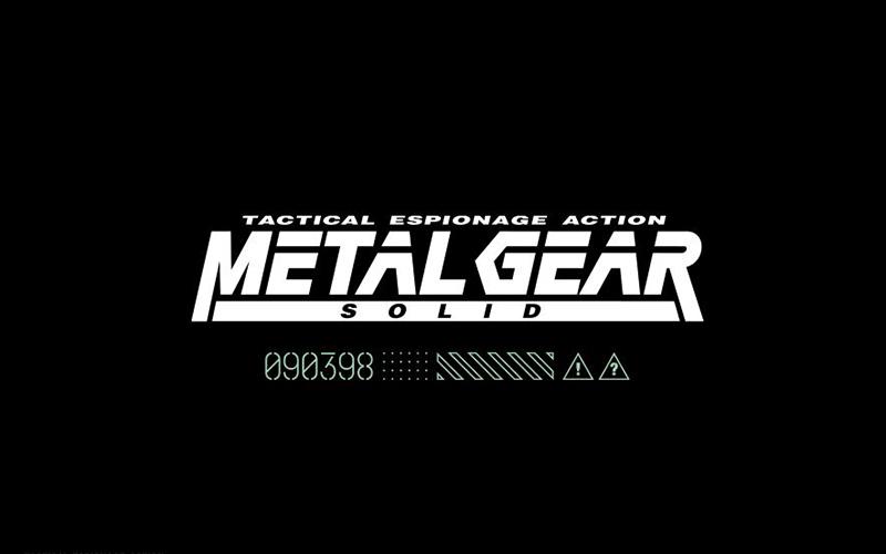 Metal Gear Font Free Download