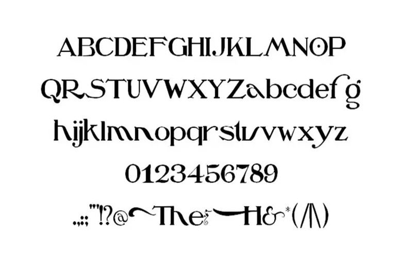 Ozs Wizard Font Family Download