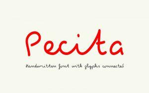 Pecita Font Free Download