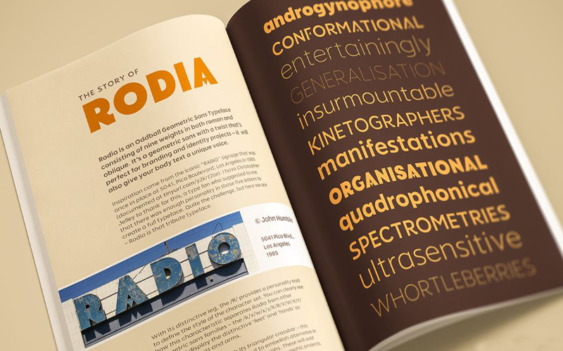 Rodia Font Family Download