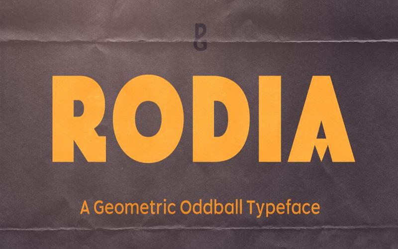 Rodia Font Free Download