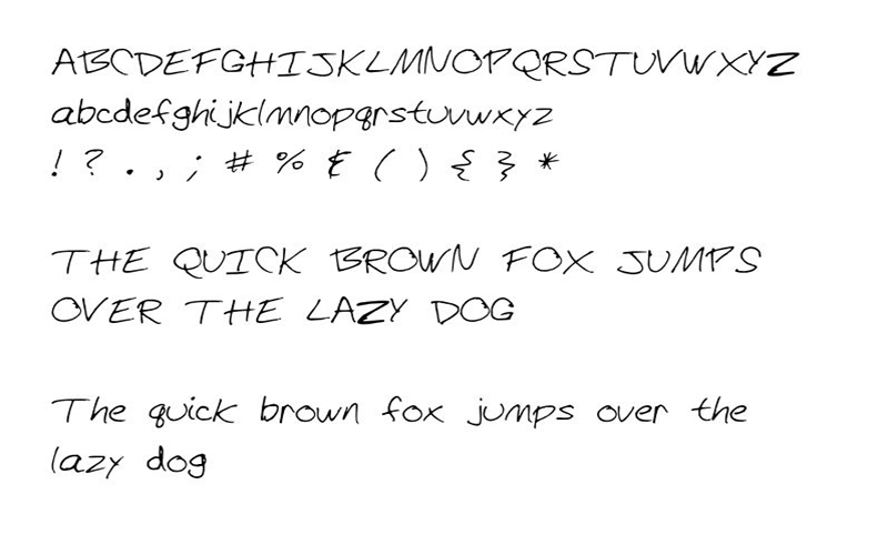 Hi There Font Family Download