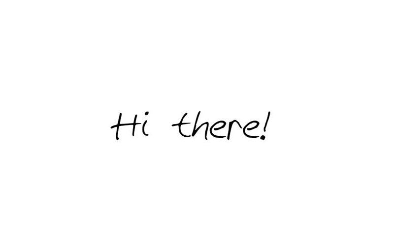Hi There Font Free Download