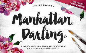 Read more about the article Manhattan Darling font Free Download